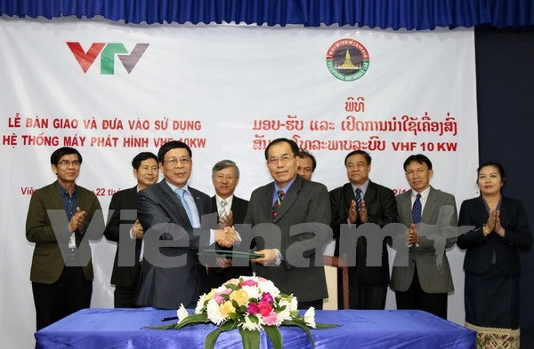 Vietnam helps Laos cover major events hinh anh 1