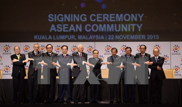 ASEAN Community marks regional historic milestone hinh anh 1