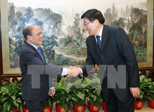 Vietnamese legislative leader visits Hunan province hinh anh 1