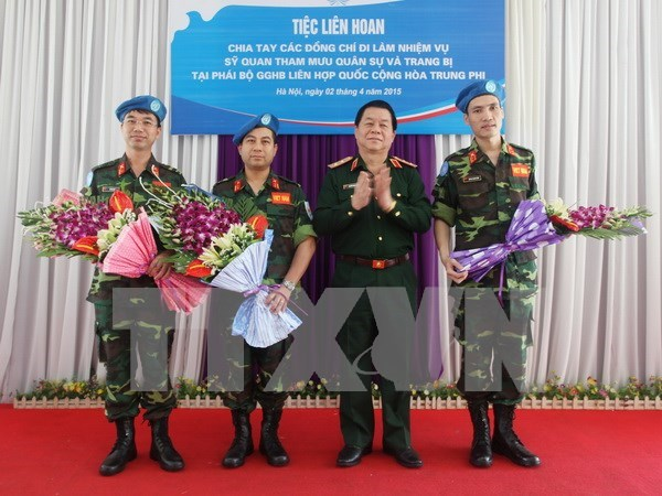 Vietnam to contribute more to UN peace-keeping mission hinh anh 1