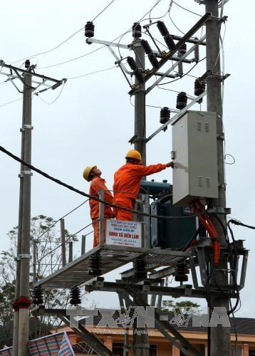 Electricity comes to la H'Drai district hinh anh 1