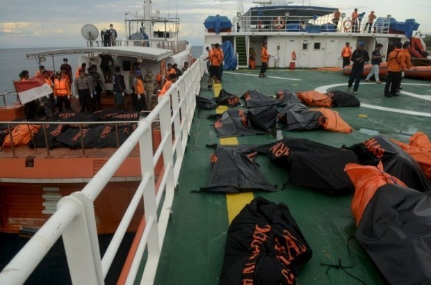 Indonesia ends search for Sulawesi ferry victims hinh anh 1
