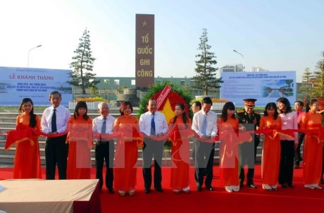 Memorial park for war martyrs inaugurated in HCM City hinh anh 1
