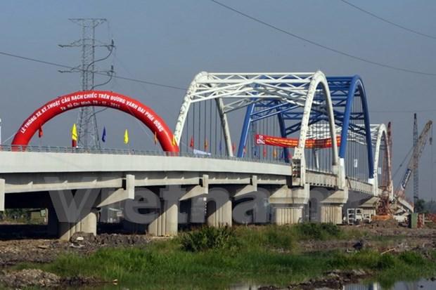 Bridge completes HCM City beltway hinh anh 1