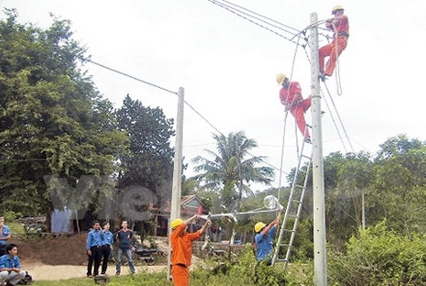 Tien Giang ensures power access for successful countryside building hinh anh 1