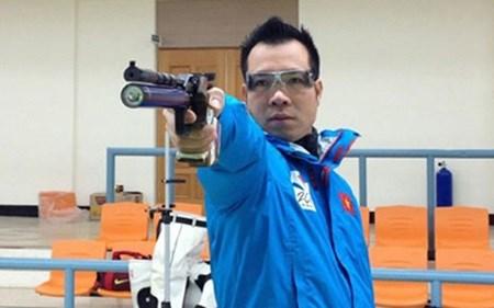 Vietnamese marksman ranks third in world 50m pistol shooting hinh anh 1