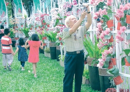 Floral fairs colour HCM City for Tet hinh anh 1