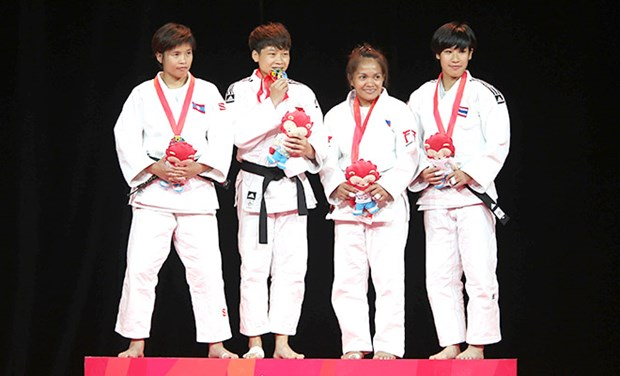Vietnamese judokas to compete in Tunisia hinh anh 1