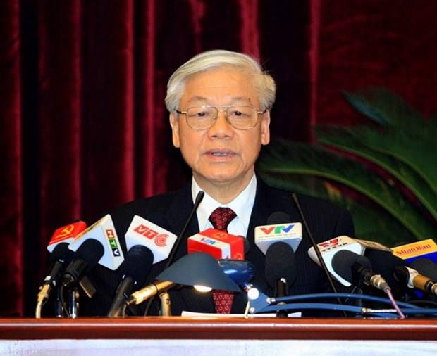 Party Central Committee concludes 14th meeting hinh anh 1