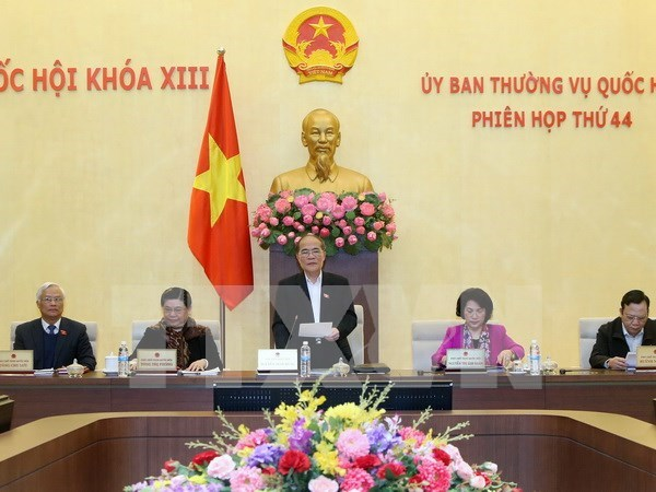 NA Standing Committee convenes 44th session hinh anh 1