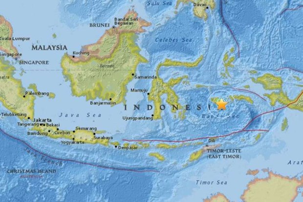 Indonesia quake injures eight, damages houses hinh anh 1