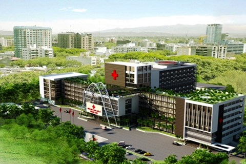 Construction of int'l-standard hospital begins in Binh Phuoc hinh anh 1