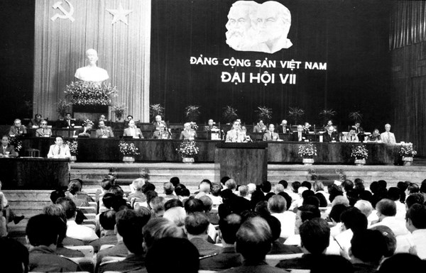 Seventh National Party Congress hinh anh 1