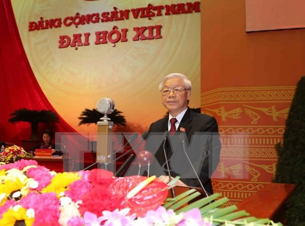 12th National Party Congress pushes comprehensive, synchronous reform hinh anh 1