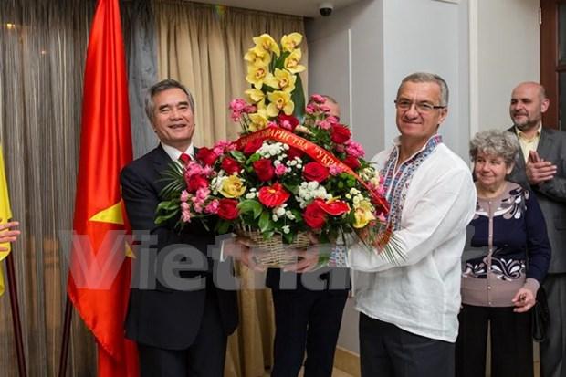 50 years of Ukraine – Vietnam Friendship Association marked in Kiev hinh anh 1