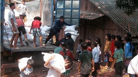 Lao Cai, Quang Tri provinces to get rice aid hinh anh 1