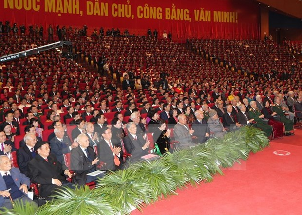 Global community welcomes 12th National Party Congress hinh anh 1