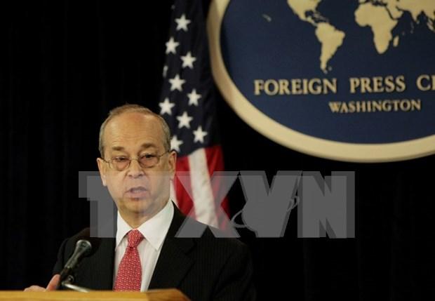 US, Singapore pledge stronger strategic partnership hinh anh 1