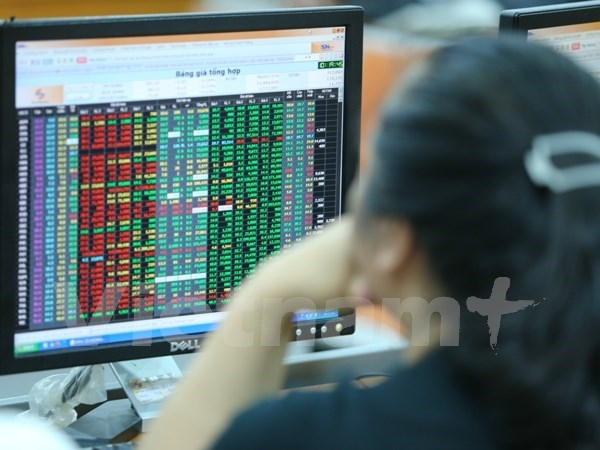 Local stocks retreat following falling oil prices hinh anh 1