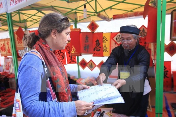 Calligraphy fest to run during Tet hinh anh 1