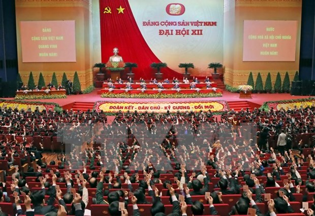 12th National Party Congress declares successful end hinh anh 1