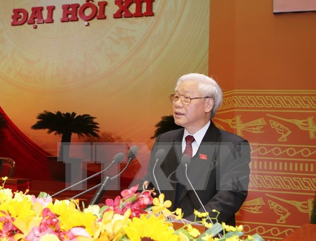 Party chief highlights success of Party Congress hinh anh 1