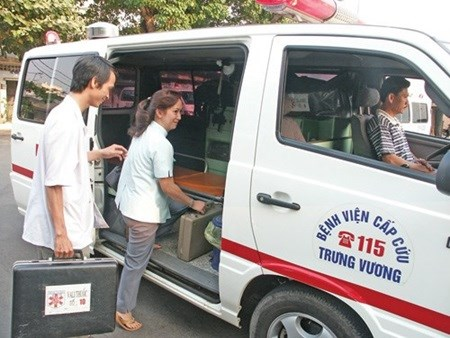 HCM City plans changes to 115 medical emergency hotline hinh anh 1