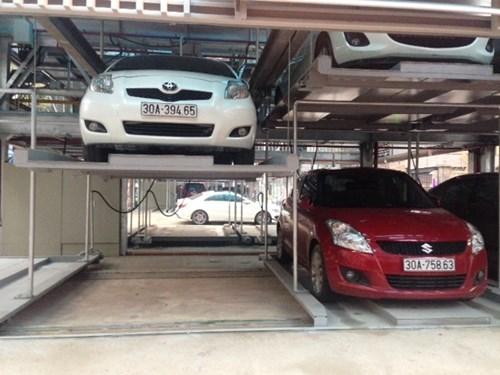 Hanoi operates new multi-storey car park hinh anh 1