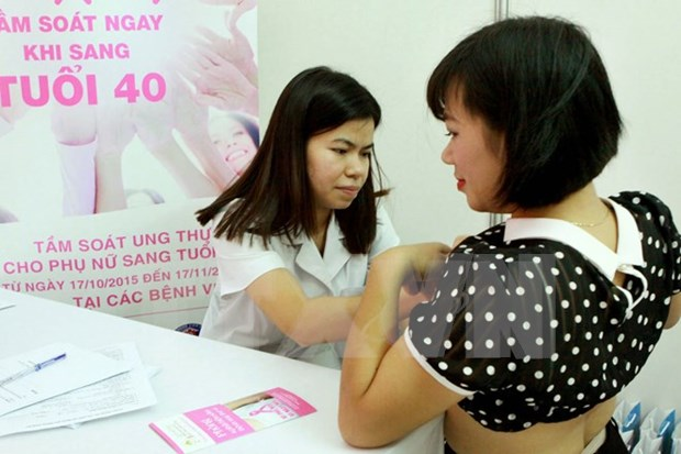 Breast cancer prevention in Vietnam reaches positive results hinh anh 1