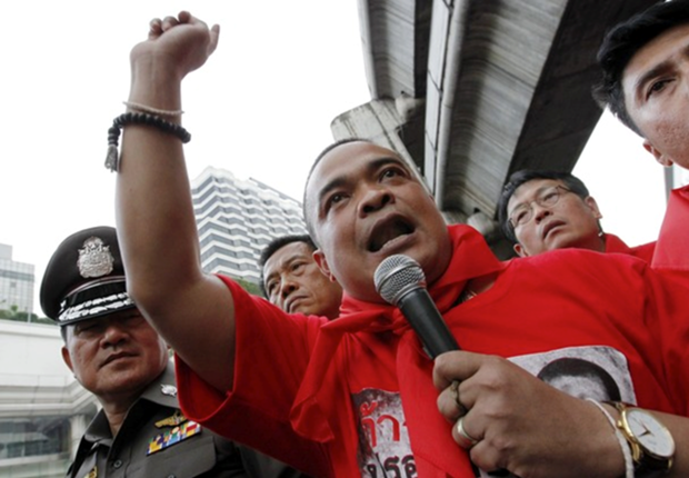 Thailand: Redshirt leader detained by soldiers hinh anh 1