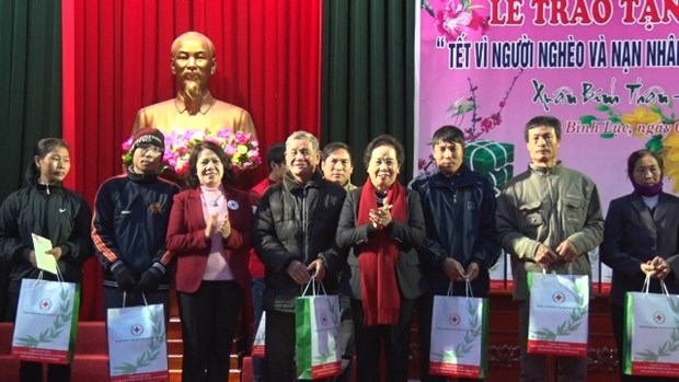 Ha Nam province ensures warm Tet for people hinh anh 1