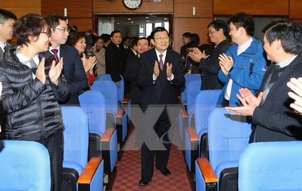 PetroVietnam hopes to grow vigorously in future hinh anh 1