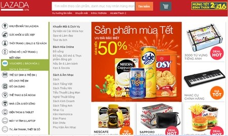 Online shopping set to take off hinh anh 1