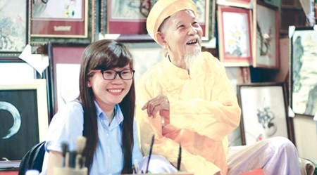 Calligrapher reflects on 70-year career hinh anh 1