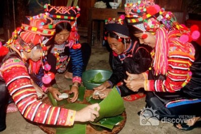 Ha Nhi people celebrate traditional New Year hinh anh 1