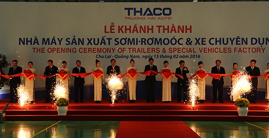 Vietnam's first trailer manufacturing factory inaugurated hinh anh 1