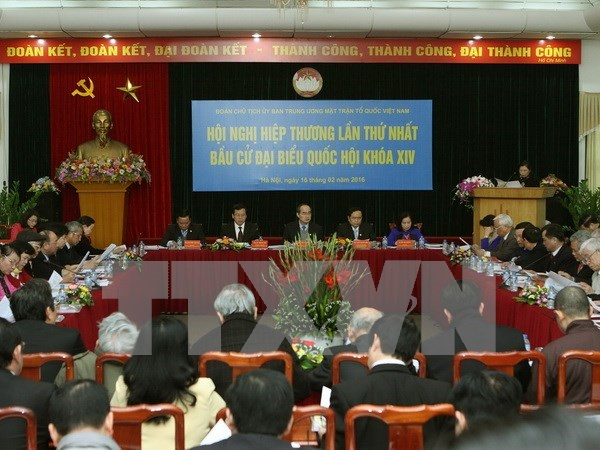 First consultative conference on NA deputies' election hinh anh 1
