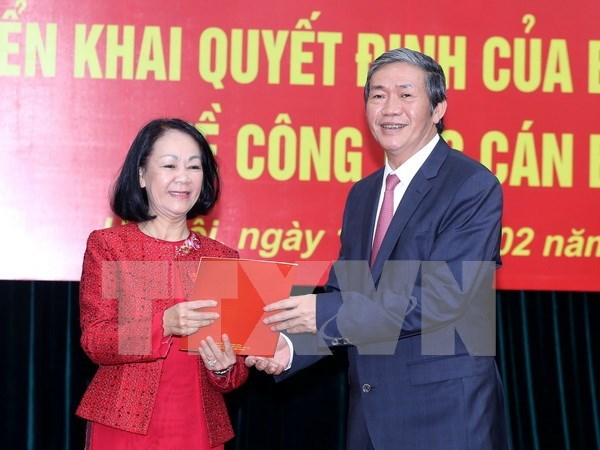 Female Politburo member chairs Party's Mass Mobilisation Commission hinh anh 1