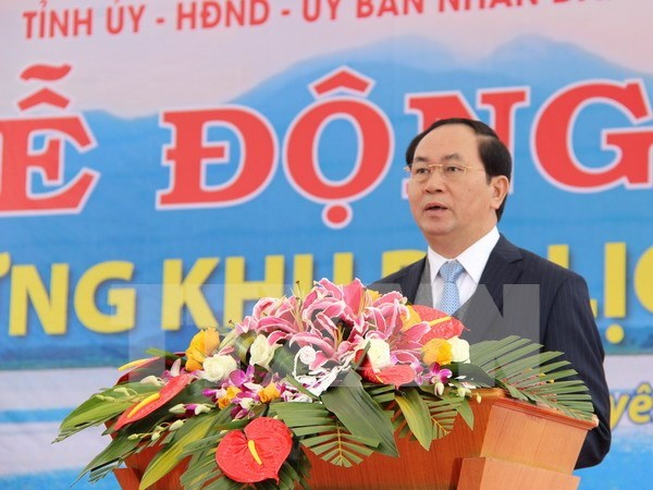Tourist site to be built near Nui Coc Lake hinh anh 1