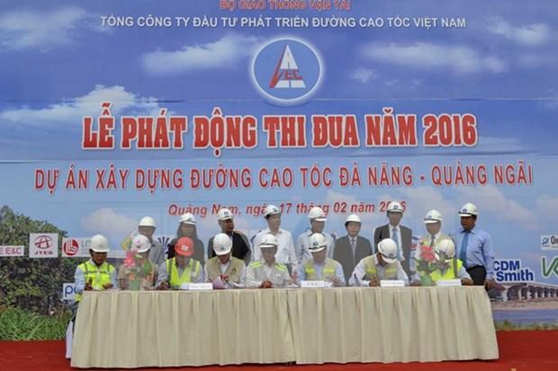 Construction of Da Nang – Quang Ngai Expressway accelerated hinh anh 1
