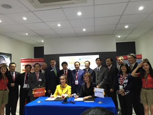 Vietjet closes 3-bln-USD engine deal at Singapore Airshow hinh anh 1