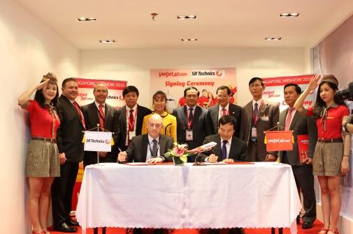 SR Technics becomes strategic partner of Vietjet Air hinh anh 1