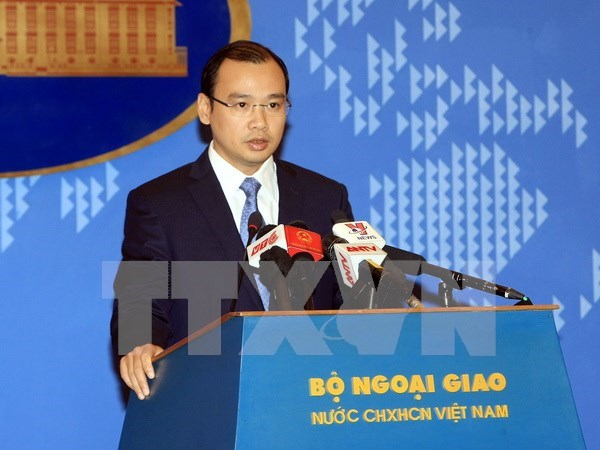 Vietnam requests China to end Hoang Sa sovereignty violations hinh anh 1