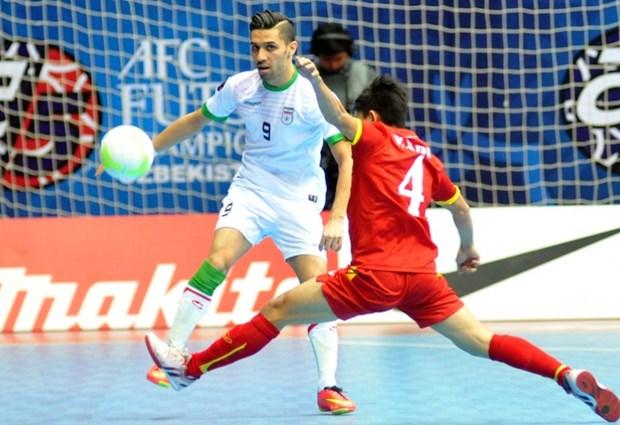 Iran defeat Vietnam in futsal semi-finals hinh anh 1