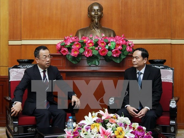 VFF Vice President receives leader of religious organisation hinh anh 1