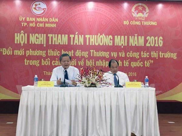 Bolstered connectivity needed between trade offices, southern region hinh anh 1