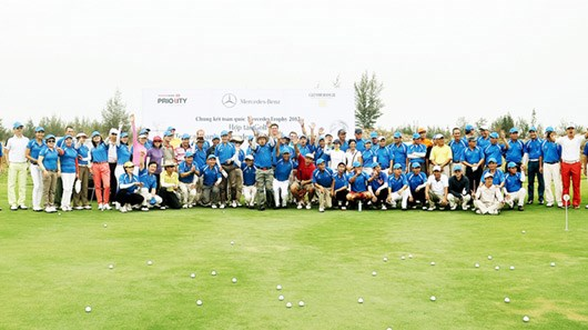 Golfers to tee off at Mercedes Trophy Qualifier hinh anh 1