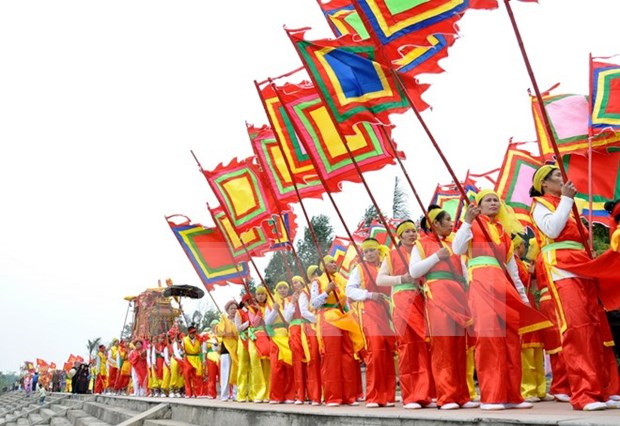Festival to fete King Kinh Duong Vuong in full swing hinh anh 1