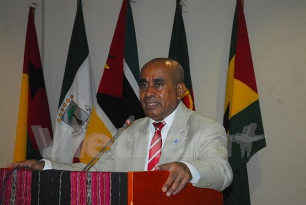 Portuguese-speaking countries meet in Timor-Leste to discuss trade hinh anh 1