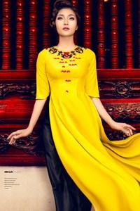 Temple of Literature to host ao dai festival hinh anh 1